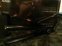 Unused babyliss diamond hair straighteners