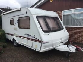Caravan. 2 Berth. Immaculate. Swift Fairway 460. (2006). Smoke and pet free. Serviced March 2018.