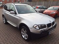BMW X3 3.0i Petrol And LPG Gas Automatic 12 Months MOT HPI Clear