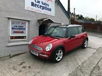 MINI COOPER 1.6 HALF LEATHER LOW MILES £1695!!