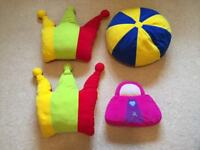 4 nursery cushions