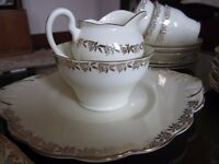 Vintage fine English bone china tea set