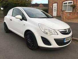 2013 63 Vauxhall Corsa Van 1.3 Cdti 90 BHP White Turbo Diesel NO VAT