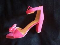 Strappy heels (size 10)