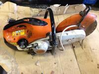 Stil saw ts410 disc cutter concrete