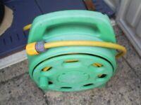 Compact Patio Hose Reel