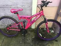 Girl Mountain Bike