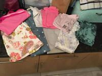 Bundle of girls clothes age 8 -10 years