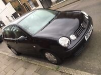 Black volkswagen polo 1.2 litre for sale