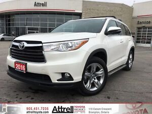 2016 Toyota Highlander AWD Limited. Smart Key, Navigation, Panor