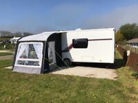 Kampa Rally Pro 200 Caravan Porch Awning as new