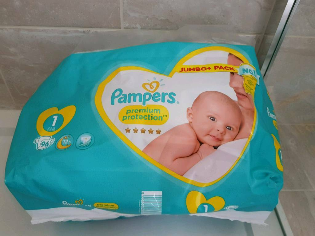 Pampers Nappies Size 1 In Kingston London Gumtree