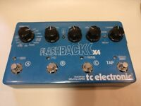 TC Electronic Flashback X4 Delay and Looper Guitar Pedal