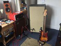 Hiwatt B412 bass guitar speaker cabinet