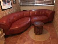 Corner Sofa Real Leather