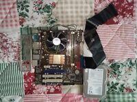 Intel E2200 + Asus P5N73-CM motherboard + Seagate 160GB & 200GB HDD + 4gb RAM Kingston