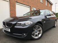 2011 11 BMW 5 Series 528i 3.0 Turbo Petrol(260bhp) Auto +97k+Pronav+M sport alloys nt 530 520 535 a6