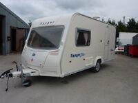 Bailey Ranger 460 Touring Caravan & FREE Starter Pack