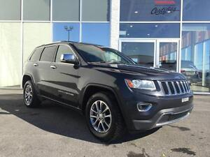 Jeep Grand Cherokee Limited 4X4 + Leather + Sunroof 2014