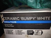 Bumpy White tiles