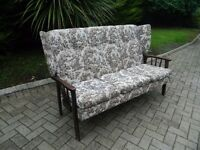 Traditional Wingback Cottage Sofa