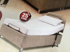 Sherborne Hampton adjustable electric single bed