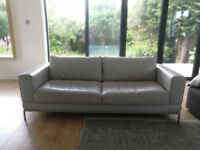 3 Seater Leather Sofa - £300 ono