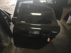 Audi A4 b8 estate passenger side rear door in black complete