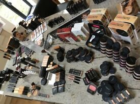 Bare Minerals - large selection of make up and cosmetics RRP £4000 plus tons of samples