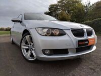 BMW 3 SERIES 325I 2.5 PETROL (218) BHP 2DR E92 COUPE SILVER CALL NOW TO RESERVE