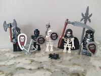 LEGO 852272 Castle Skeleton Battle Pack 100% Complete Castle Fantasy Era Minifigures