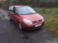 Renault scenic 7 seater....