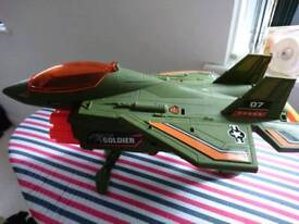 Gun plane.
