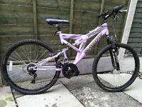 Sabre Tremor - Girl's Mountain Bike with suspension