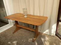 Ercol Refectory Dining Table in Oak