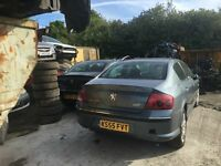 PEUGEOT 407 SE LUXURY PACK 2005- FOR PARTS ONLY