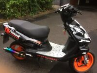 tgb 303 r hawk racing 125 scooter sell/swap pls read add/price reduced to sell