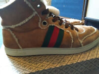 Gucci Suede Boots size 8