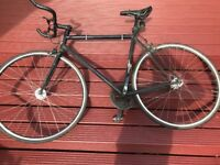 Felt broham single speed, upgraded wheels, bars and pedals