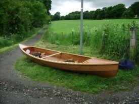 Hand ctafted Canadian canoe