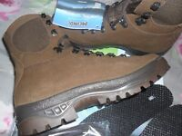 HAIX Combat Leather Boots - Brown - NEW