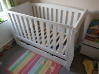 Kiddicare cot bed