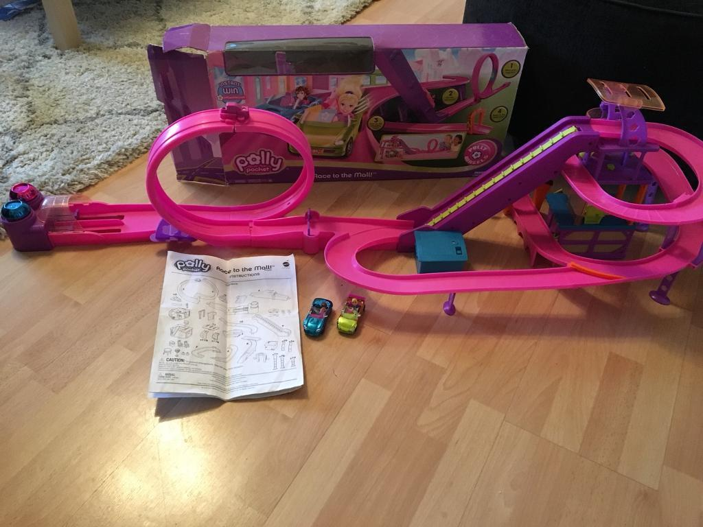 2007 POLLY POCKET RACE TO THE MALL SET