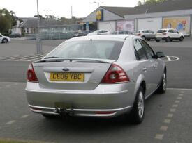 FORD MONDEO 2.2 GHIA DIESEL with LONG MOT and LOW MILES in NICE CONDITION & NEW TYRES & NEW CLUTCH
