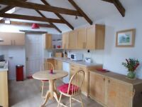 Lovely little barn conversion, available by the week during the summer