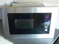 Microwave. Built in type, Cooke & Lewis make.