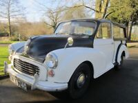 "1969 MORRIS MINOR TRAVELLER ""WOODY"" ESTATE * ROLLING PROJECT* CALL MARC 07739 329 389"