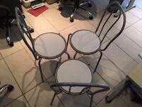 3 Dining Chairs, University Street Belfast