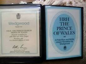 LIMITED EDITION PRINCE OF WALES WEDGWOOD.MINT.