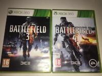 Battlefield 3 & Battlefield 4 (Xbox 360)